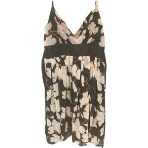 🍀3/$30 Costa Blanca brown floral dress